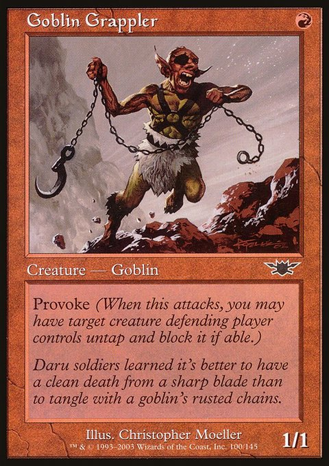 Goblin Grappler