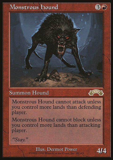 Monstrous Hound