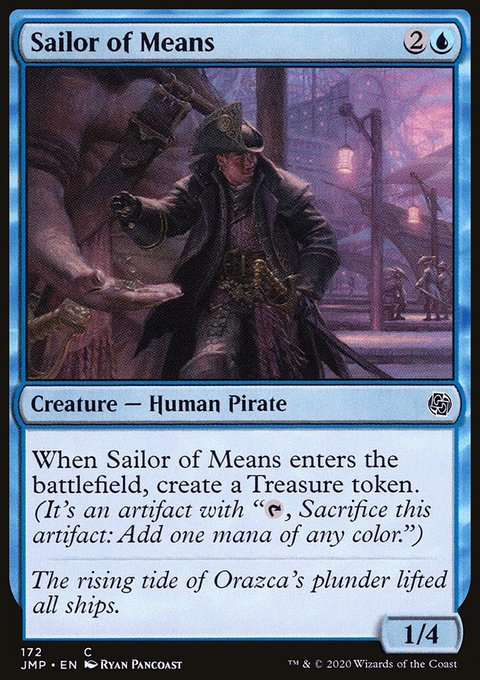 Sailor of Means