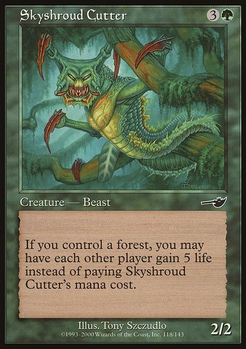 Skyshroud Cutter