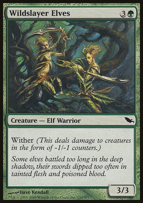 Wildslayer Elves